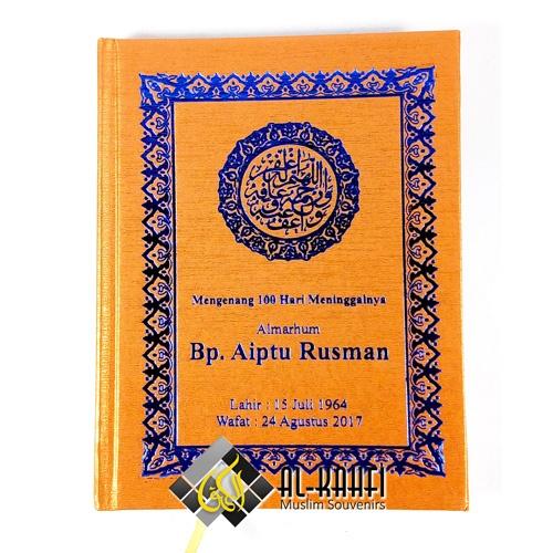 Buku Yasin Hard Cover 256 Halaman Souvenir Tahlilan