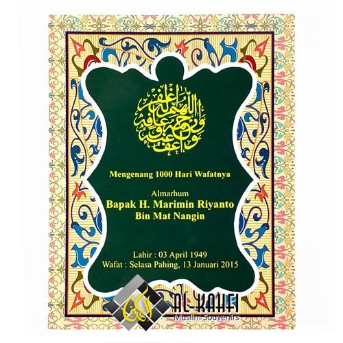 Buku Yasin Soft Cover 128 Halaman Souvenir Tahlilan